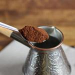 Кофе арабика моносорта.  Мелкий помол (турка). Фасовка: 0,5 кг.