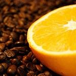 "Ароматизированыый кофе ""Красный апельсин"" 0,5 кг. (молотый)"