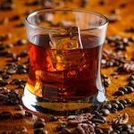 """Ароматизированный кофе """"Виски"""" 0,5 кг. (зерно)"""